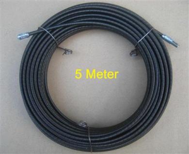 Kabeleinziehdraht = Stahldraht 5m / Einziehdraht / Einziehhilfe (5764# - Vorschau