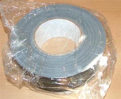 Gewebeband schwarz 300ym/50mmx50m hohe Klebkraft (5208# - Vorschau