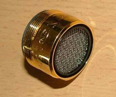 Mischdüse /Turbolator Longlife/Goldglänzend M28x1(4548#