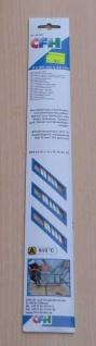 Neusilber-Hartlot 5 Stäbe ø 2, 0 x 333 mm (5897#
