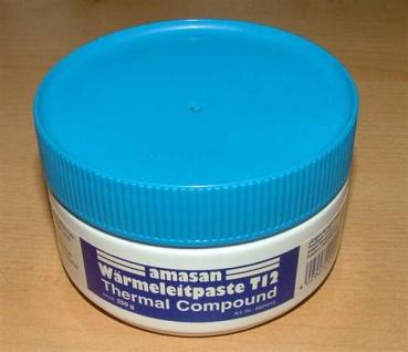 Wärmeleitpaste T12 / 250gr.Dose / Temp.bereich -30°C bis +200°C (5238#