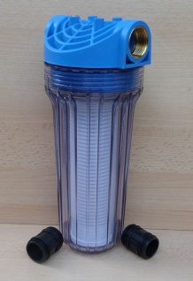 """Vorfilter für Pumpen Anschluß 1"""" mit Entlüftung lange Bauform (9649# - Vorschau"""
