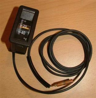 Kapillarthermometer 32x65mm senkrecht1, 5m Kapill.(4317# - Vorschau