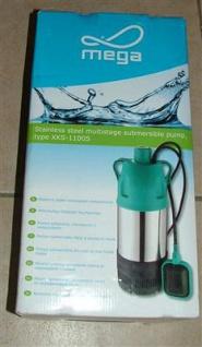 Unterwasserpumpe Tauchpumpe 1, 1 KW mehrstufig XKS-1100S (5268#