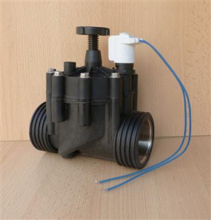 """Magnetventil 2"""" mit Magnetspule stromlos offen 24V.DC bis 60° (8160#"""