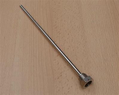 """Tauchhülse 3/8"""" x 250mm / 4, 2 mm Innenloch Messing verchromt (10637# - Vorschau"""