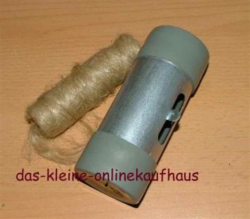 Hanfspender Hanfi grau Metall mit 80gr. Hanfspule(4297# - Vorschau