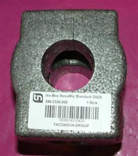 Isolierbox für Mischventil Taconova DN 20 // 296.2326.000 (5731# - Vorschau