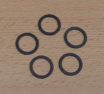 Gummi-Dichtung für Perlstrahlregler M 22 / 5 Stück (9574#