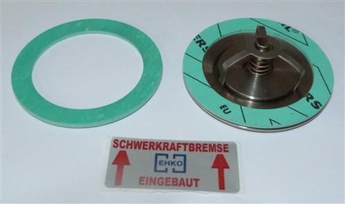 """Scheiben-Rückschlagventil SOLAR Typ 73N / DN 40 ( 1 1/2"""") Niro (7528#"""