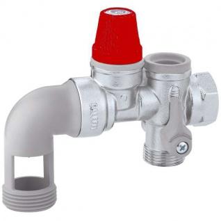 """Caleffi Sicherheitsgruppe 526151 rote Kappe / 3/4"""" für Trinkwasser (9772#"""