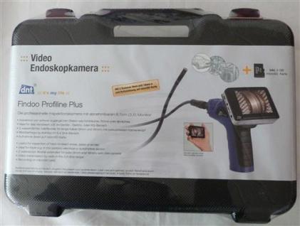 Video Endoskopkamera, Inspektionskamera mit abnehmbarem Monitor (7712#