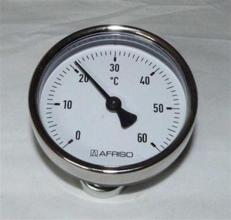 Magnet - Anlegethermometer Ø 63mm / 0°C bis 60°C (7640#