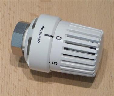 Design Thermostatkopf Oventrop, weiß, Thermostat UNI LH (6820# - Vorschau