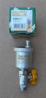 "Entlüfter Caleffi SOLAR+Kugelhahn 3/8"" AG / Caleffi : 250931 (8232# - Vorschau"