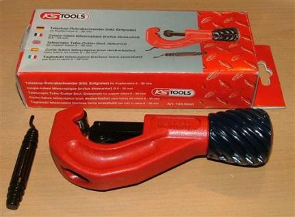 Rohrschneider Kupferrohr 6mm-38mm KS Tools (5069# - Vorschau