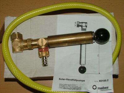 Solarfüllpumpe / Handpumpe / OVP von Meibes(795# - Vorschau