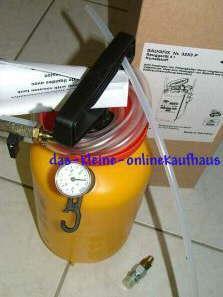Ölansaugpumpe / Vakuumpumpe 4 Liter Behälter (958#