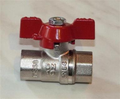 """BASIC-Hochtemperatur Kugelhahn bis 180°C / 3/8"""" IG / IG PN 40 (7013#"""