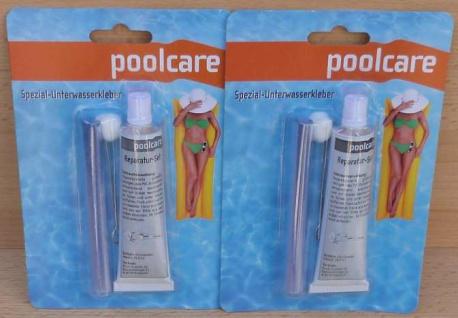 Folienreparatur-Set Poolcare Spezial-Unterwasserkleber POOL/Teich 2Stk. (9652#