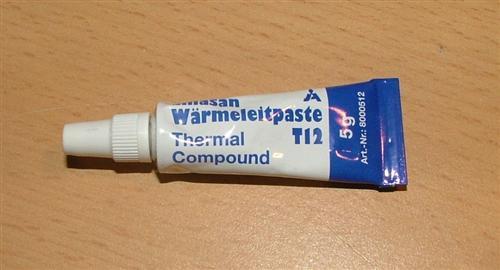 Wärmeleitpaste T12 / 5gr. Tube / Temp.bereich -30°C bis +200°C (1378#