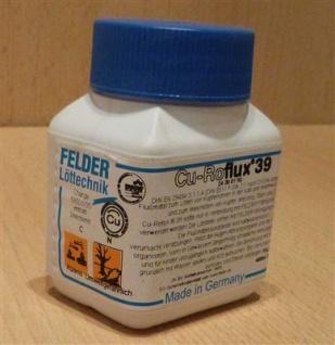 Weichlötflussmittel Cu-Roflux® 39 von Felder(5916#