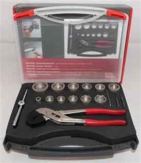Neoperl® Steckschlüsselsatz in Kunststoffbox 17 -teilig (7344#
