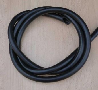 Schlauchleitung Ø innen 9 mm x 2 mm, 1mtr. Länge, ölbeständig (8606#