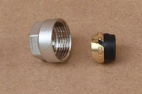Klemmringverschraubung Eurokonus 14 mm weichdichtend / 1Stück (8293# - Vorschau