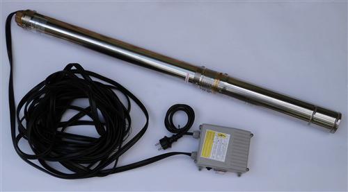 Tauchdruckpumpe 3 Zoll Edelstahl / 550 W / Typ 3QJD1 55-20 (8324#