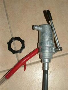 Mechan. Ölheberpumpe aus Zinkdruckguss komplett (3408*
