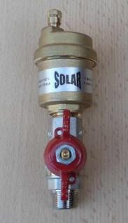 """SOLAR Schnellentlüfter 3/8"""" AG SV38 mit Kugelhahn kurzer Griff (9466# - Vorschau"""