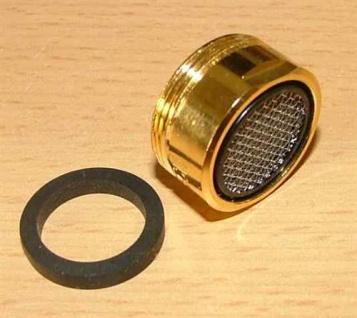 Mischdüse /Turbolator Longlife/Goldglänzend M24x1(4546#