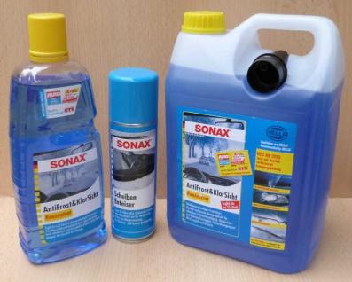 AntiFrost, KlarSicht Konzentrat und Scheiben Enteiser SONAX