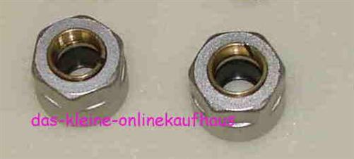 Klemmringverschraubung (Paar) D 15 x 1 mm (2555*