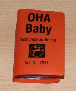 Dichtungen OHA BABY HAAS Dichtungssortiment Art.7811 (6793#