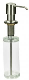 Einbau-Seifenspender / Spülmittelspender 500ml Edelstahloptik (10305# - Vorschau