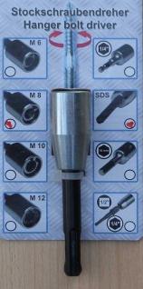 Stockschraubenreindreher M8 mit SDS Aufnahme (1396#