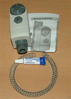 Anlegethermostat WTC-ES Außenver.+Wärmeleitpaste (5122#