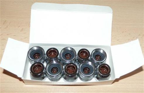 Neoperl ® Mengenregler für Duschen 12.0 Ltr. / Min. braun 10Stk.(7352#
