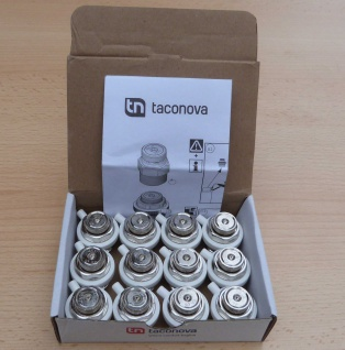 Taconova Heizkörperentlüfter 1/2 Zoll / 12 Stk.OVP (933#