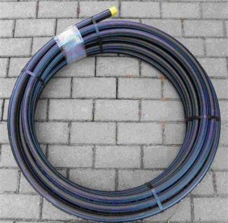 PE Rohr 32 x 3 / 25m Rolle / DVGW zug. Trinkwasser / PE-HD / PN 12, 5 (5791# - Vorschau