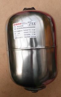 Ausdehnungsgefäß Edelstahl Varem 8l Zylinder (10732#
