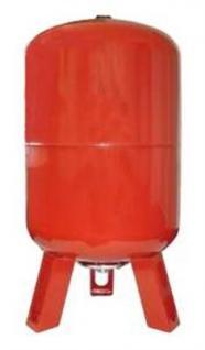Ausdehnungsgefäß Watts stehende Bauform 80 l rot (2540*