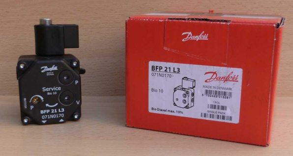Danfoss Ölbrennerpumpe BFP 21 L3 / 071N0170 Servicepumpe (6717# - Vorschau