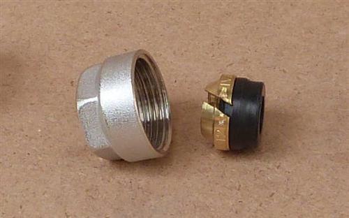 Klemmringverschraubung Eurokonus 12 mm weichdichtend / 1Stück (8292#