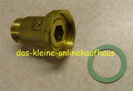 """Messing Pumpenverschraubung einfach 1 1/2"""" x1"""" AG (3843#"""