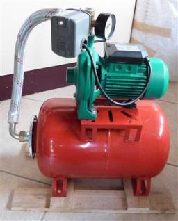 Kreiselpumpe 0, 37 KW / Zentrifugalpumpe mit Druckessel 24Liter (7304#