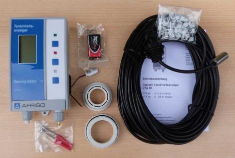 Digitaler Tankinhaltsanzeiger AFRISO DTA 10 für Wasser / Heizöl (8533#