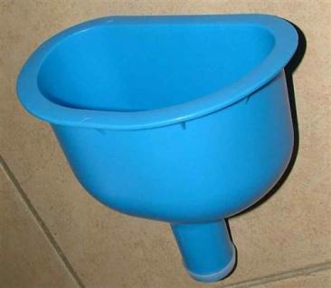 Trichter Blau (240x150x230) Anschluß 50mm / NEU (4338#